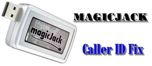 Magicjack caller ID name fix