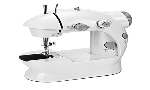afferty Portable Sewing, Double Speed Mini Sewing Machine