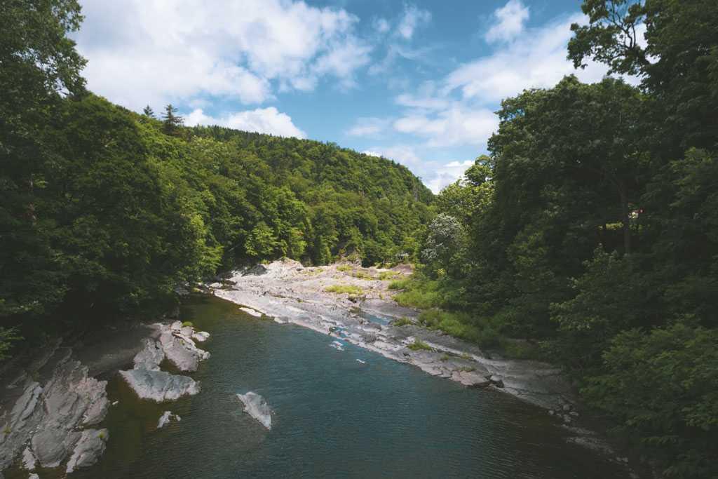 Furano river