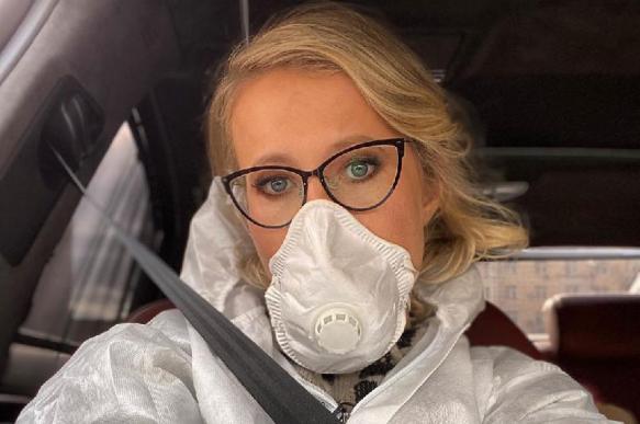 Собчак дала комментарий по предполагаемому коронавирусу у Нарусовой