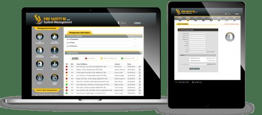 Fire Safety web app concept