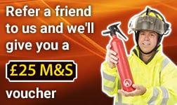 Refer a friend to us and we'll give you a £25 M&S voucher