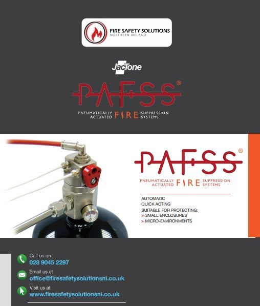 Brochure PAFSS - Fire Suppression System