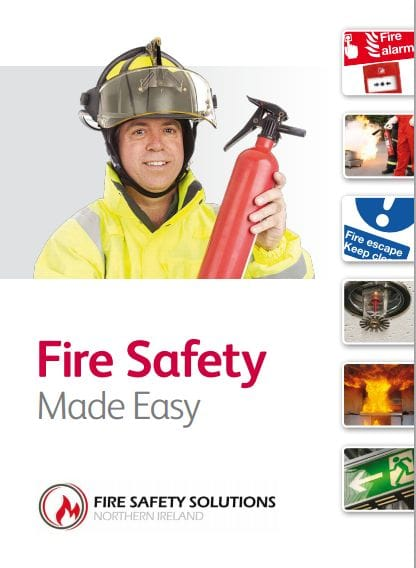 Flyer Fire Warden A5 Training Booklet Cover