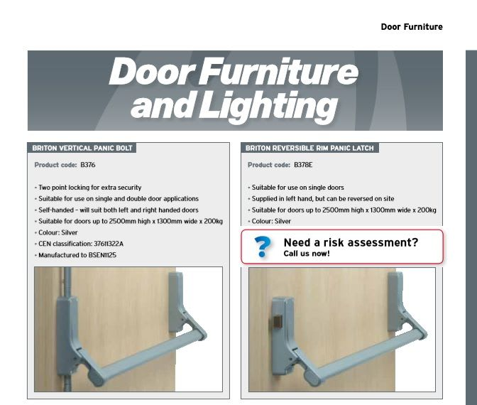 Catalogue_39-43_Door Furniture and Lighting