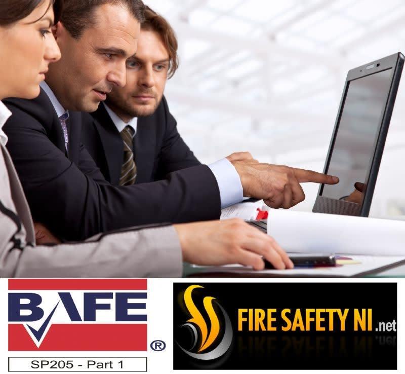 BAFE SP205 Certified Company