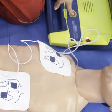 CPR and AED Defibrillation Course