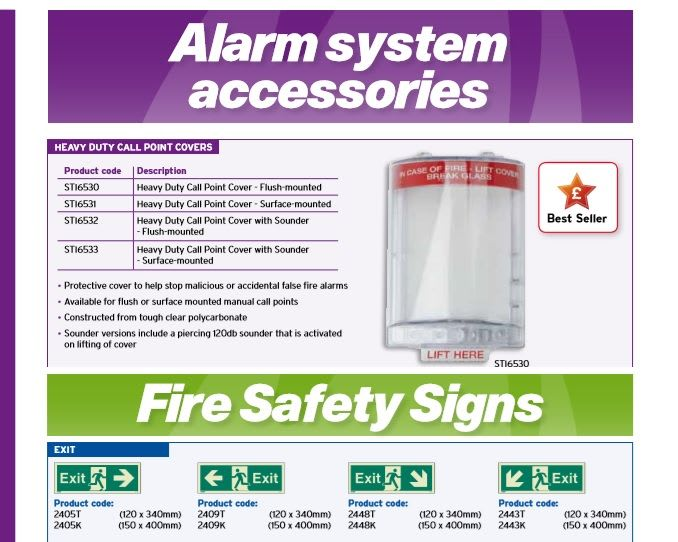 Catalogue_56-68_Alarm Systems and Signage
