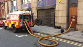 Gallery Fire Landrover Dry Riser Testing