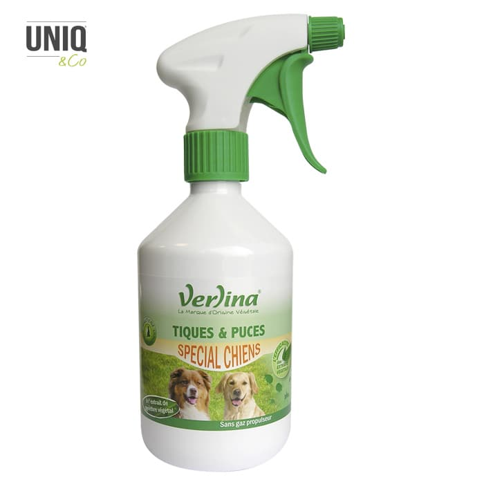 Insecticide d'environnement Tiques & Puces Chiens 500 ml VERLINA