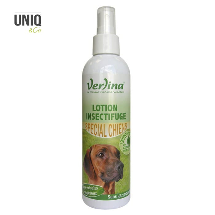 Lotion Insectifuge Chiens 250 ml VERLINA