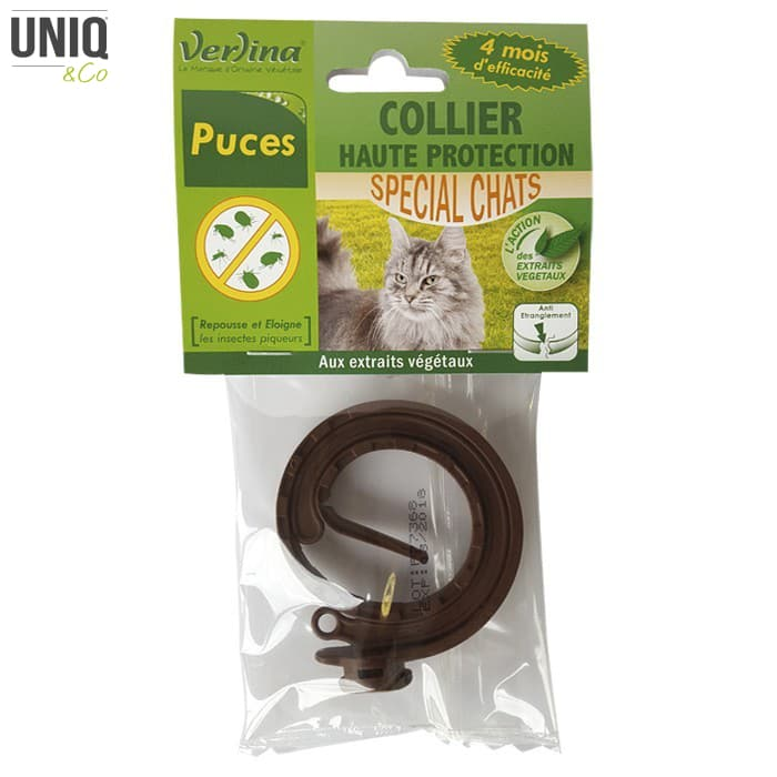 Collier Puces Insectifuge Chats VERLINA