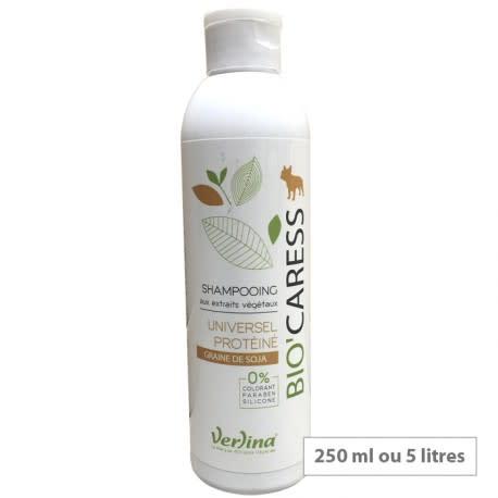 Shampooing Universel Protéiné (Graine de Soja) 250 ml VERLINA