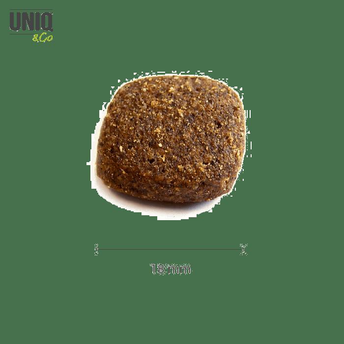 Croquettes sans céréales UNIQ Dog-  Chien adulte toutes tailles (poulet, porc et dinde) Sac 12kg