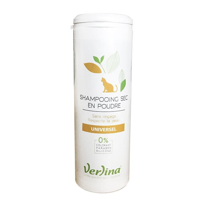 Shampooing Naturel sec poudre Chat / Universel