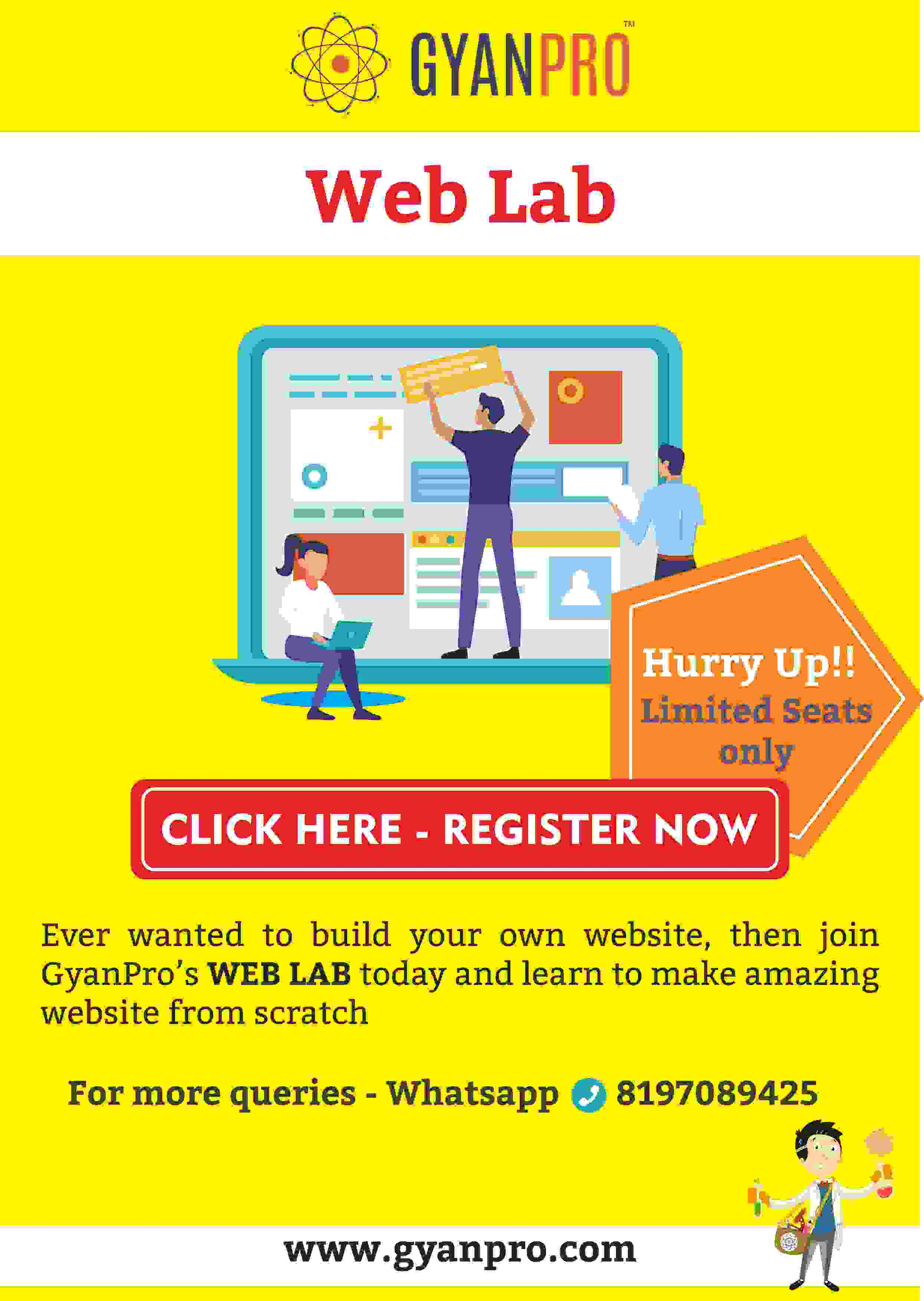 gyanpro_Web lab_poster