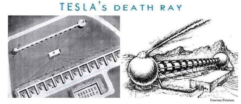 Tesla's Death Ray