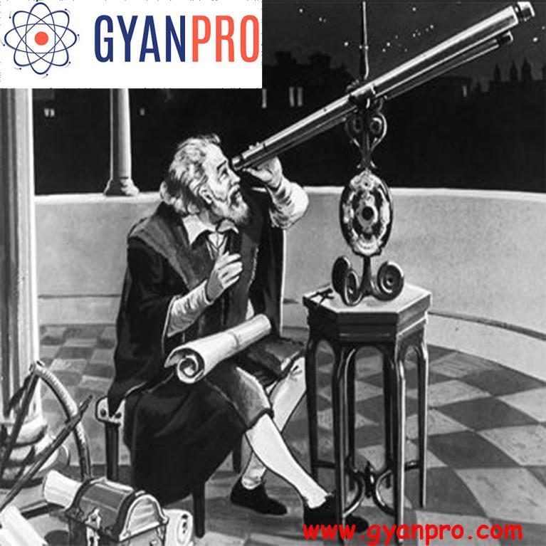 galileo with a telescope