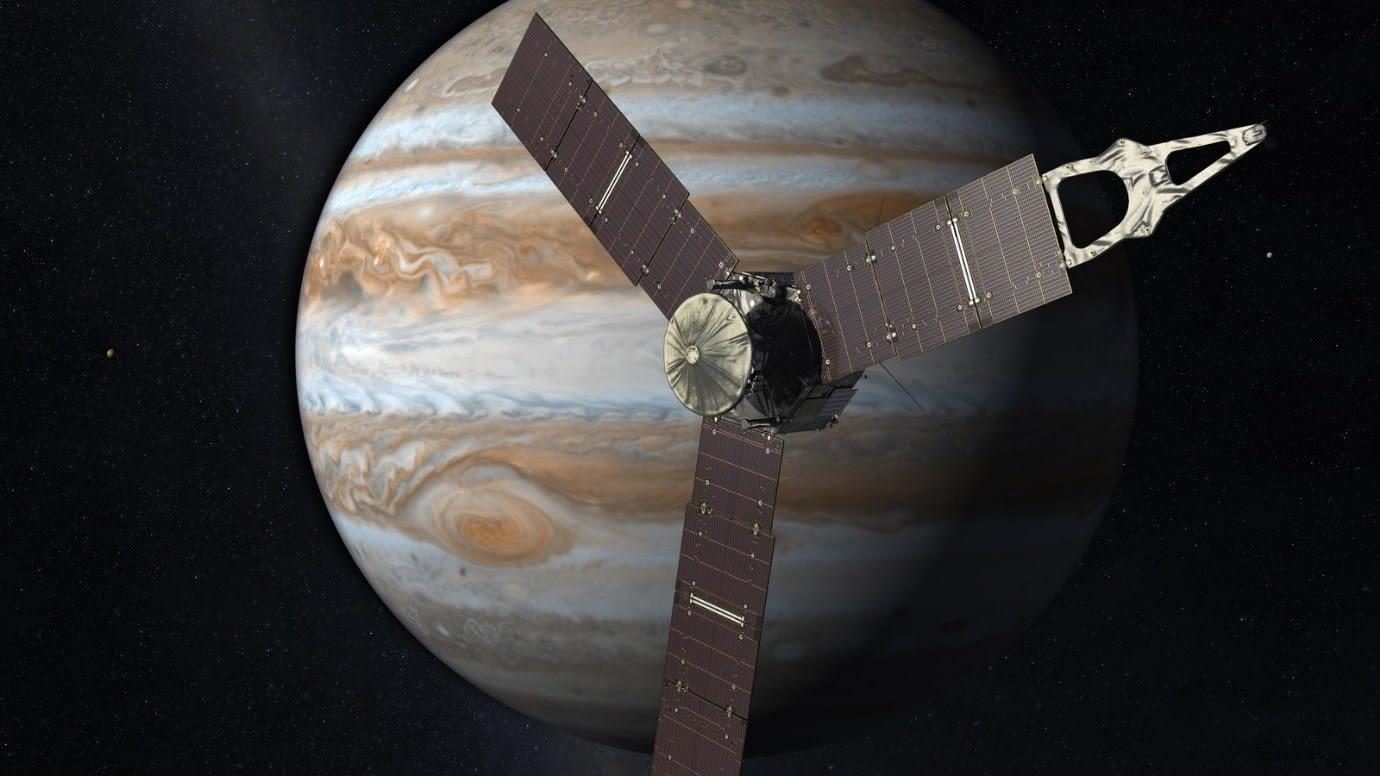juno satelite meeting jupiter