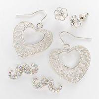 Glittery Earrings