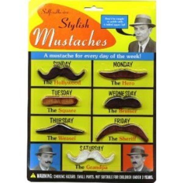 Stylish Fake Moustaches