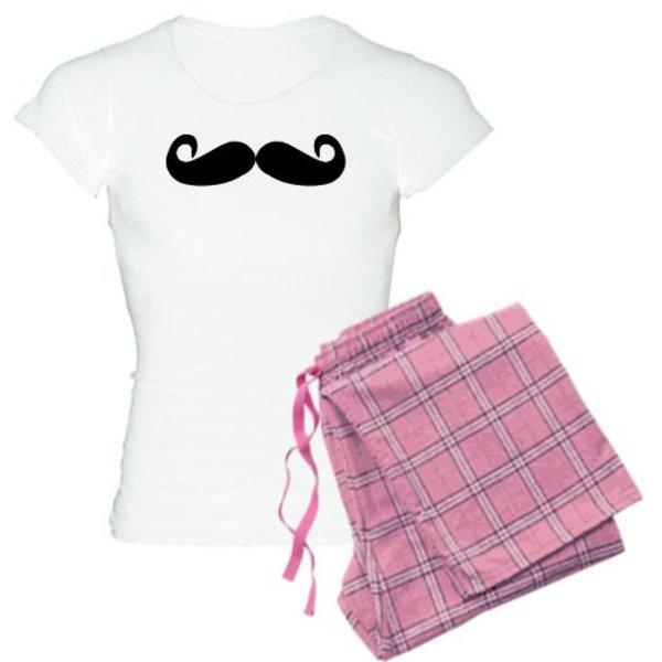 Girl's Moustache Pyjamas
