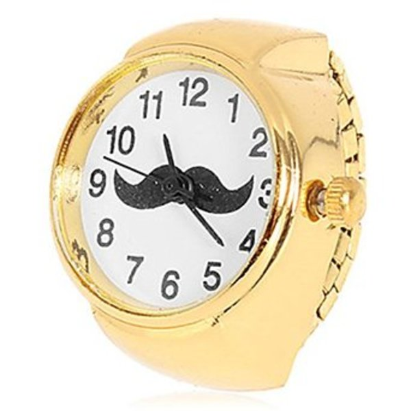 Moustache Ring Watch