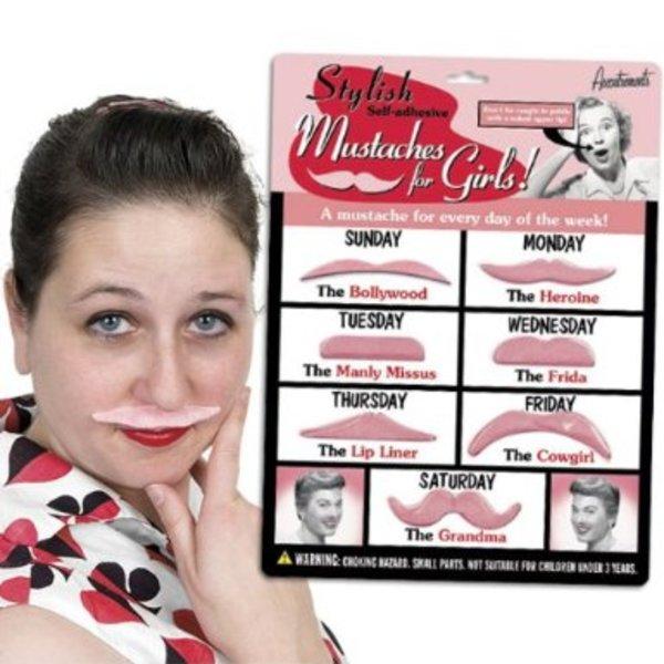 Women's Fake Moustache