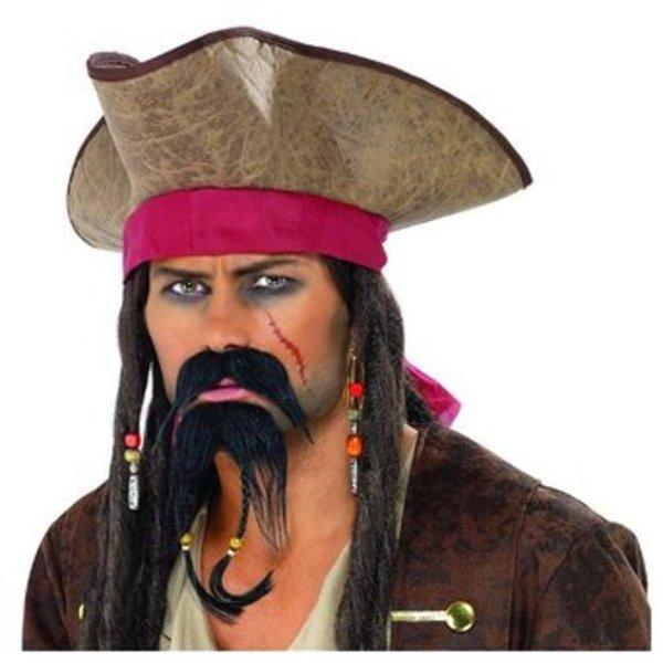 Fake Pirate Moustache