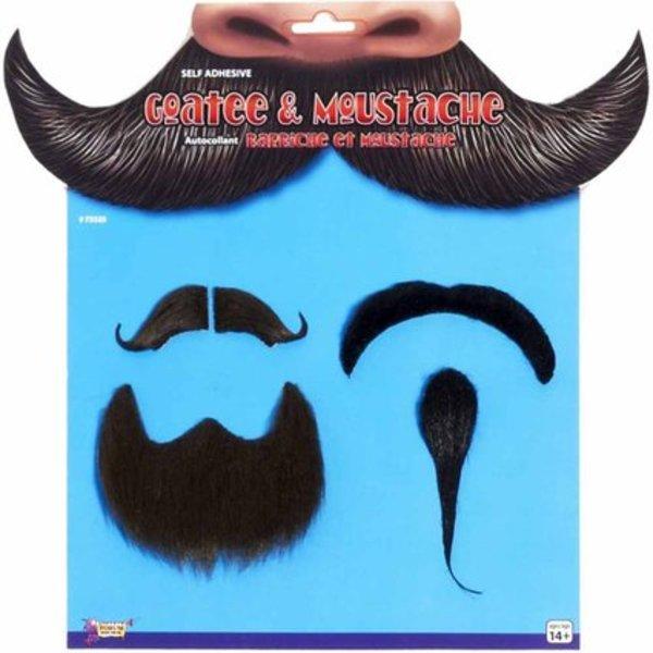 Fake Moustache & Goatee