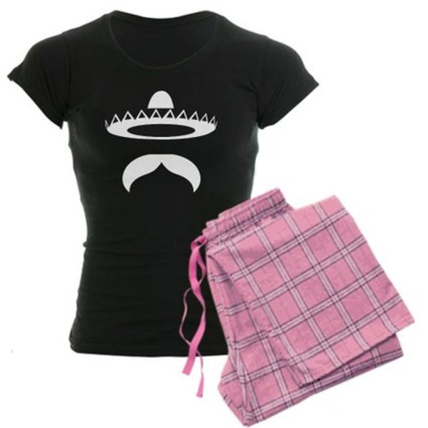 Women's Moustache Pyjamas