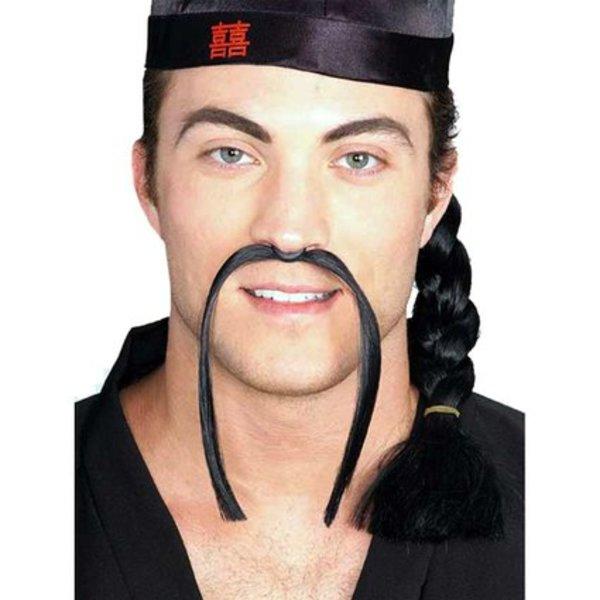 Mandarin Fake Moustache