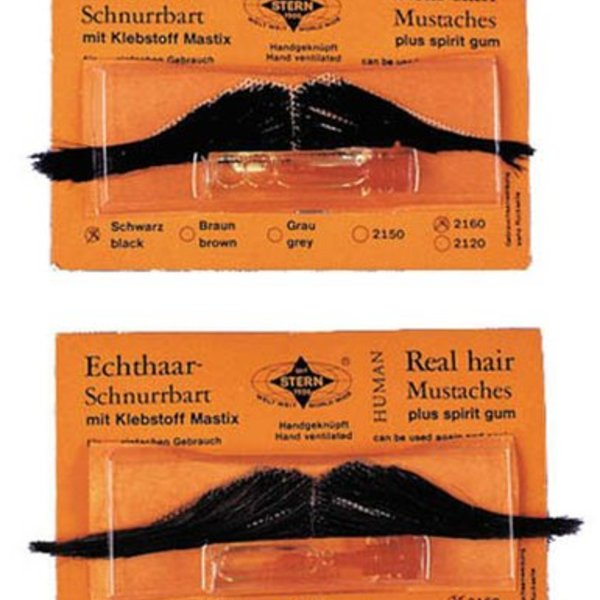 Italian Fake Moustache