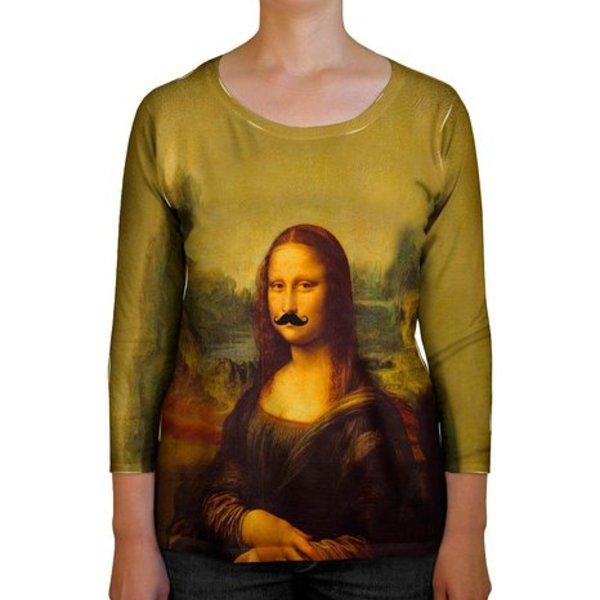Mona Lisa Moustache Shirt