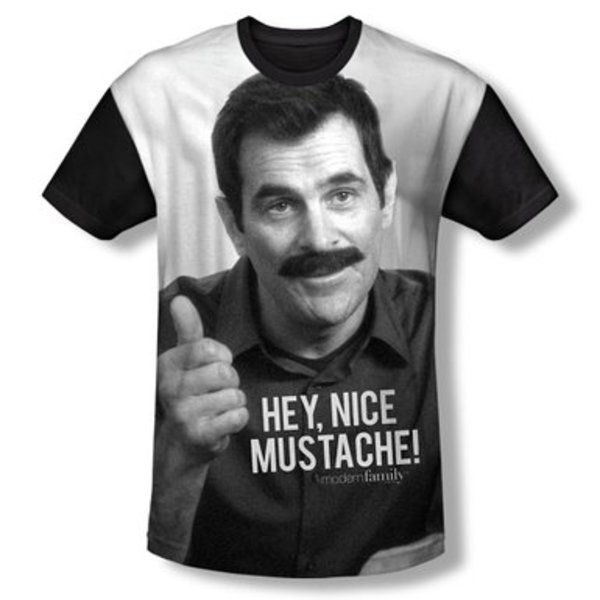 Phil Dunphy Moustache T-Shirt