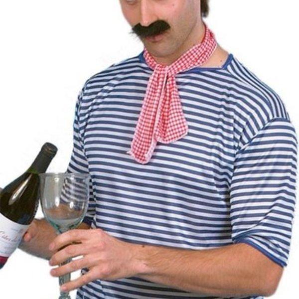 French Artist Fake Moustache