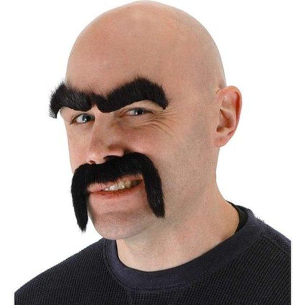 Tough Guy Fake Moustache
