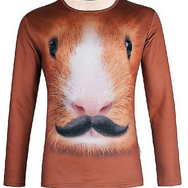 Hamster Moustache Shirt