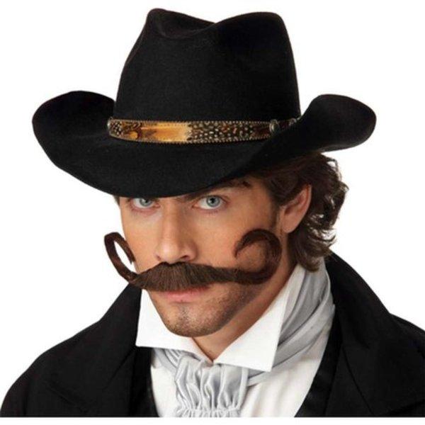 Handlebar Fake Moustache