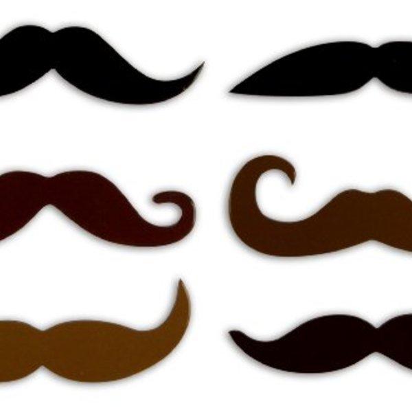 Moustache Magnet Set