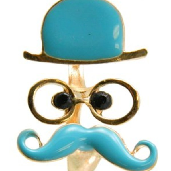 Disguise Moustache Ring