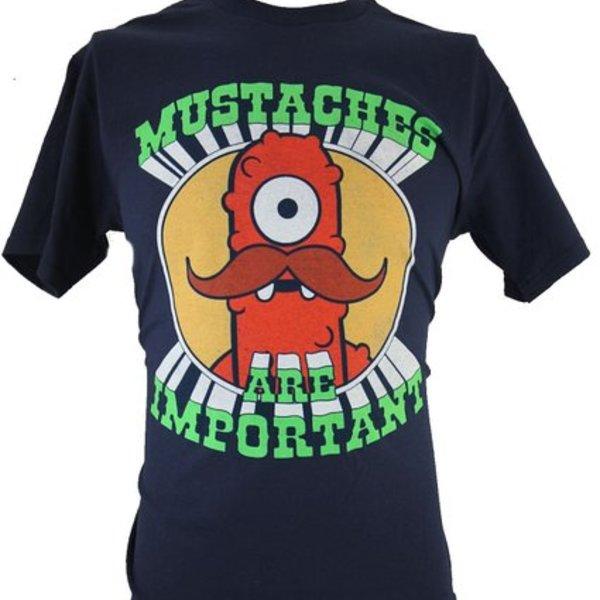Yo Gabba Gabba Moustache T-Shirt