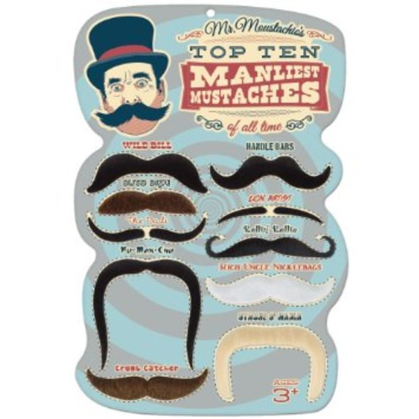 Assorted Fake Moustaches