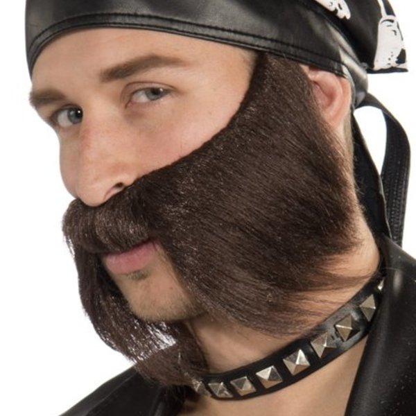 Fake Biker Moustache