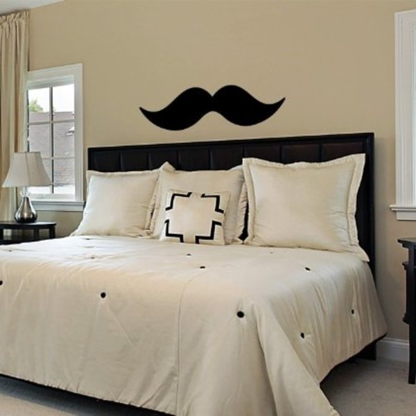Moustache Wall Decal Set