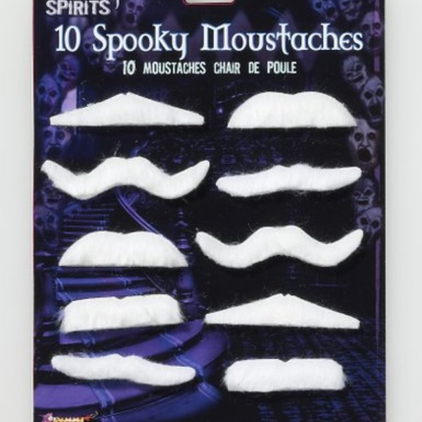 Spooky Fake Moustaches