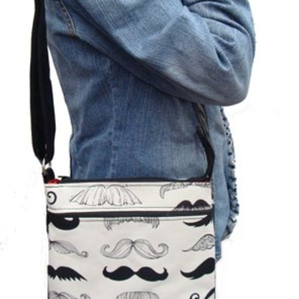 Moustache Shoulder Bag