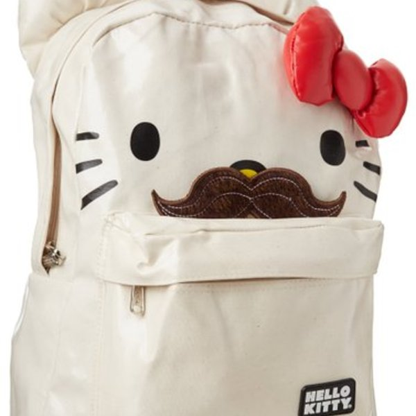 Hello Kitty Moustache Backpack