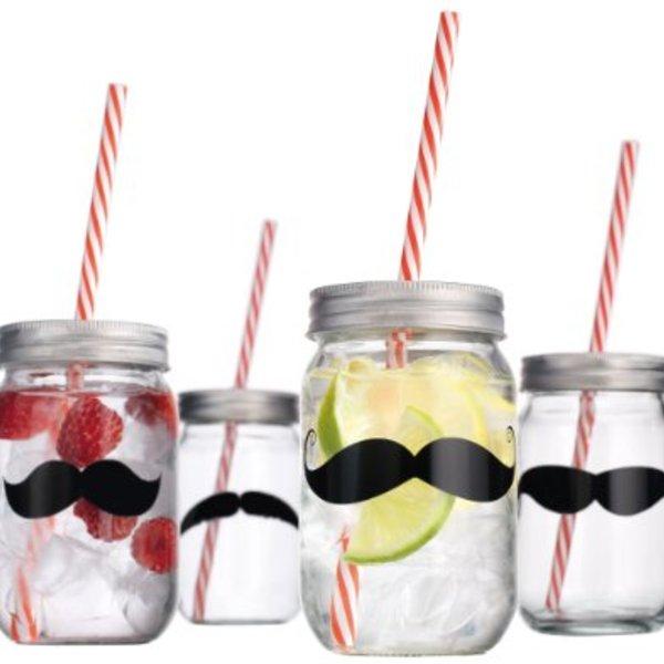 Moustache Jar