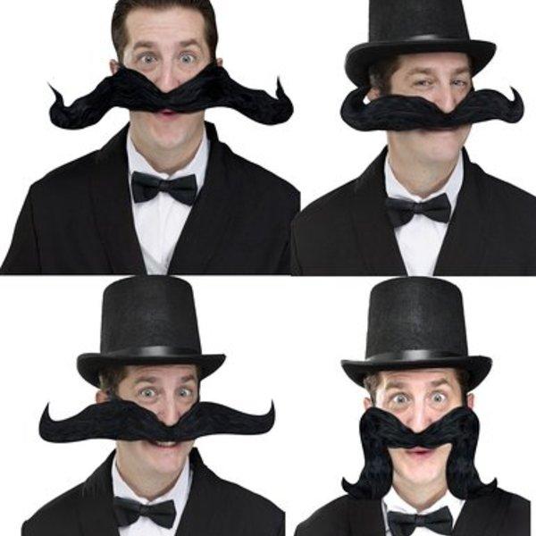 20's Style Fake Moustaches